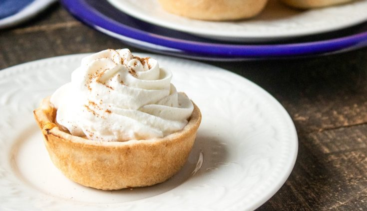Mini Bite-Sized Pumpkin Pies
