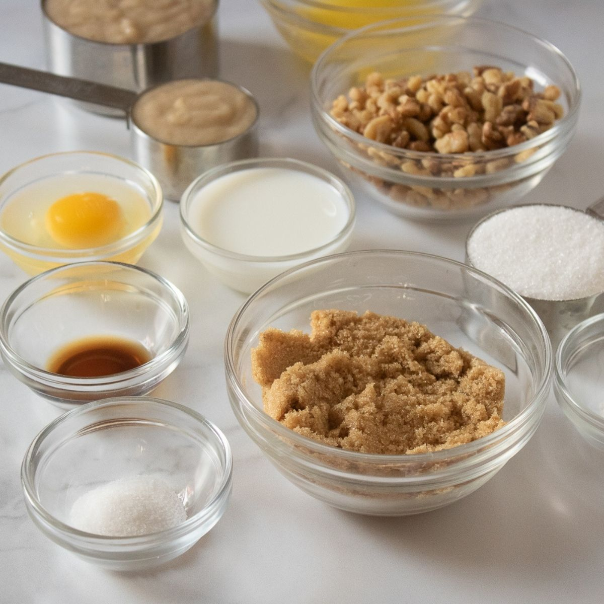 Nutty Banana Muffin Ingredients