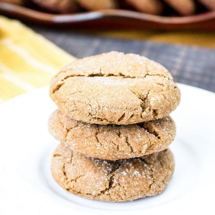Chewy Ginersnap Best Cookies