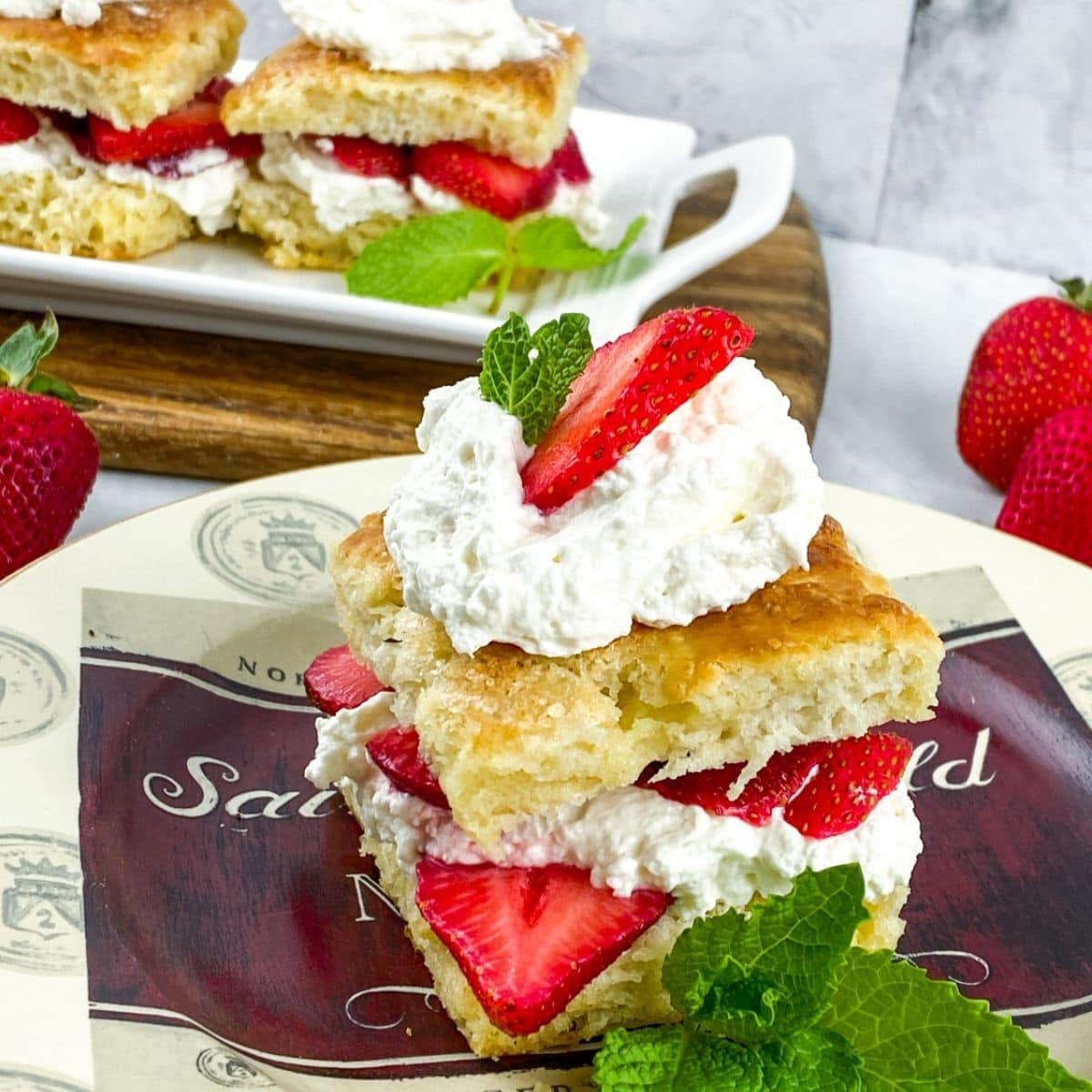 biscuits strawberry
