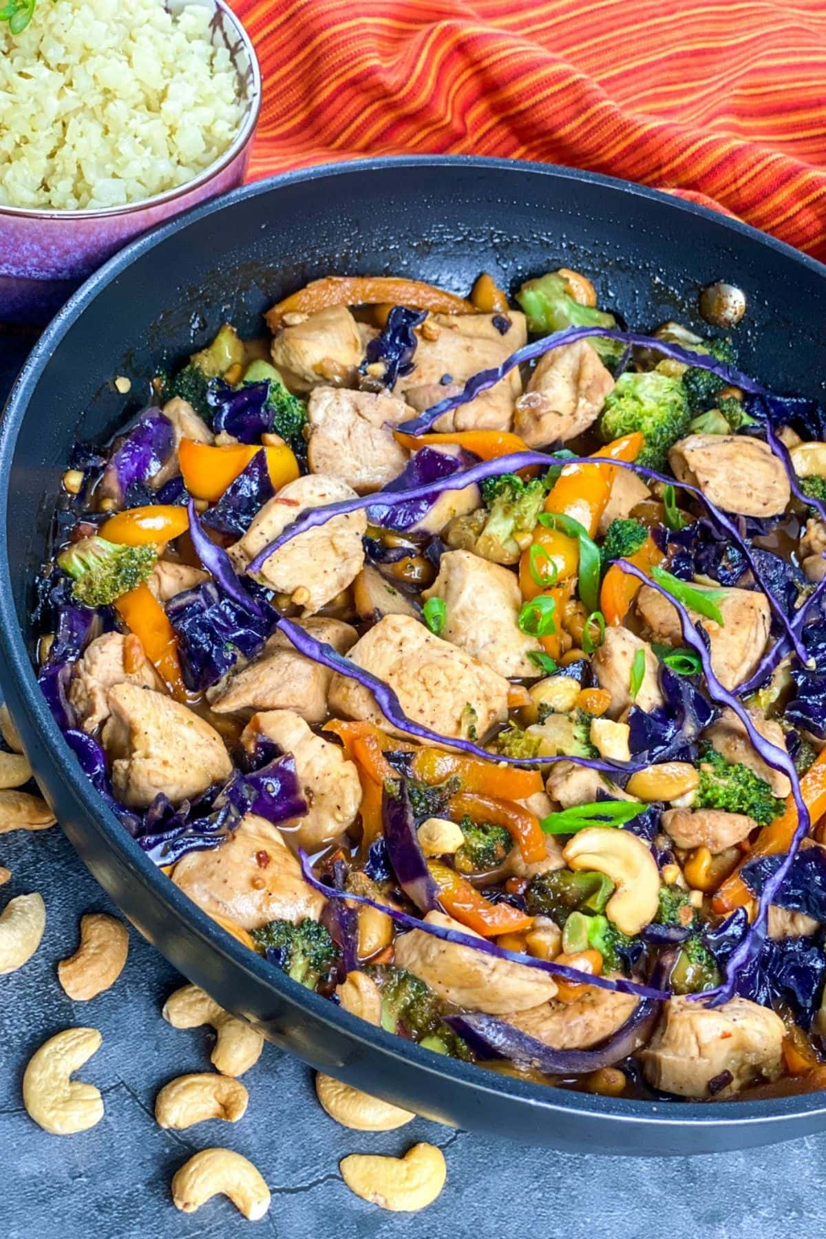 Low carb Chicken & Red Cabbage